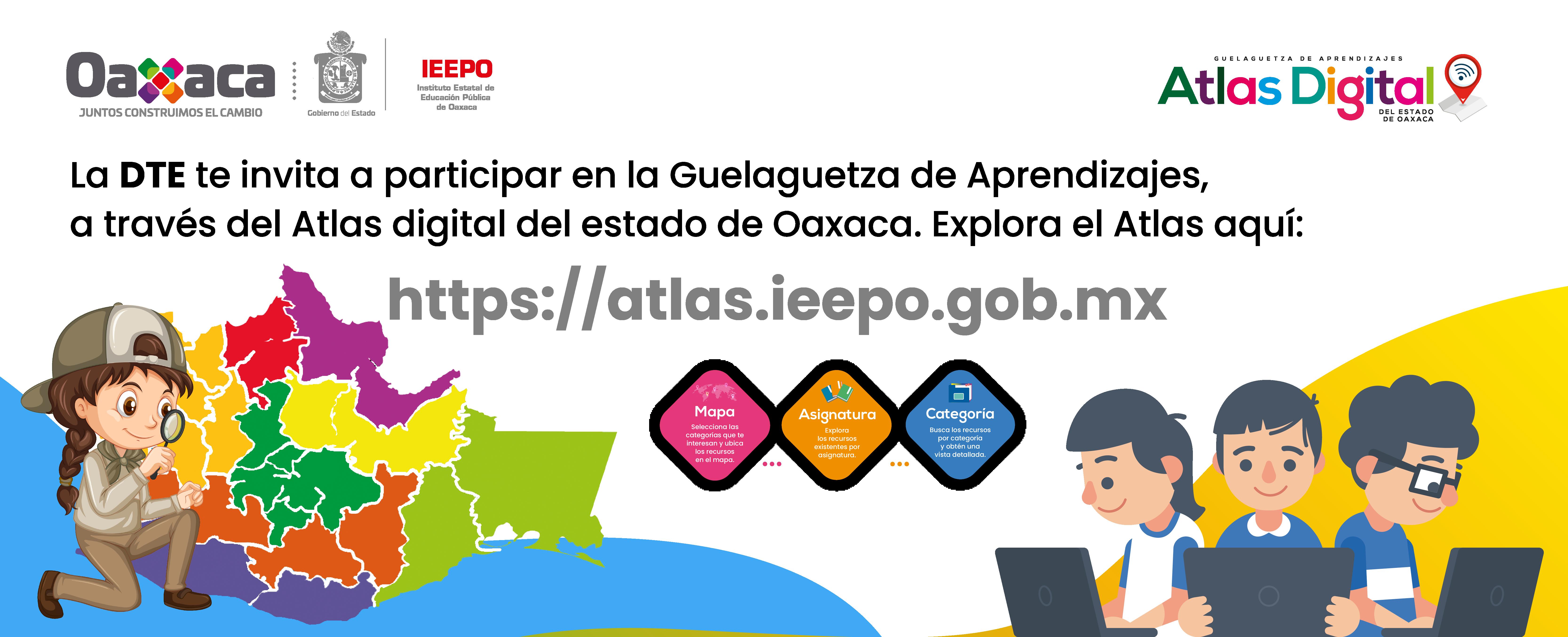 Guelaguetza de aprendizajes Atlas digital del estado de Oaxaca