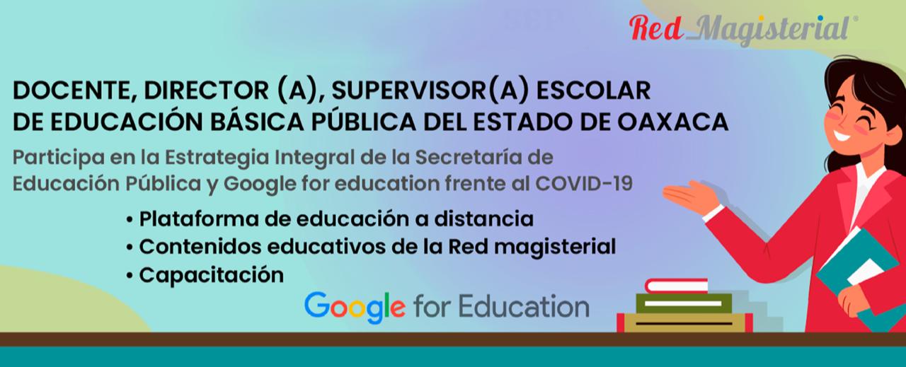 Registro para la Estrategia de Educación a Distancia